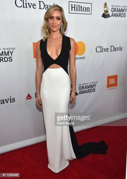 Kristin Cavallari attends the Clive Davis and Recording Academy PreGRAMMY Gala and GRAMMY Salute to Industry Icons Honoring JayZ on January 27 2018...