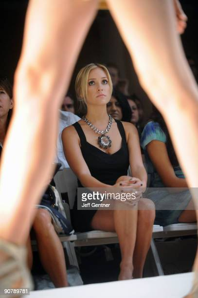 Kristin Cavallari attends the WALTER Spring 2010 presentation at the Metropolitan Pavilion on September 15 2009 in New York City