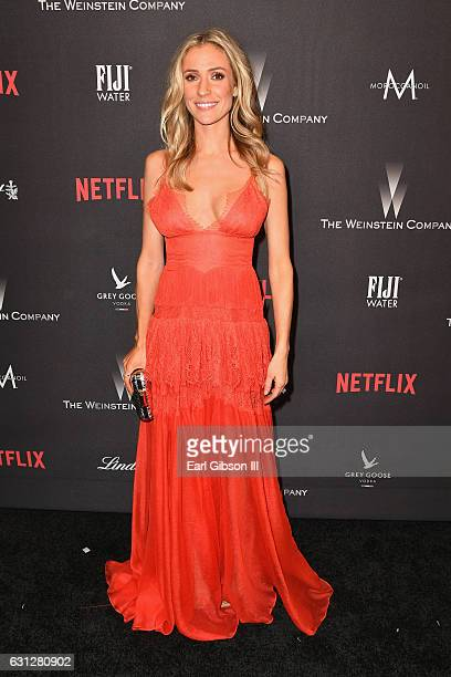 Kristin Cavallari attends The Weinstein Company and Netflix Golden Globe Party presented with FIJI Water Grey Goose Vodka Lindt Chocolate and...