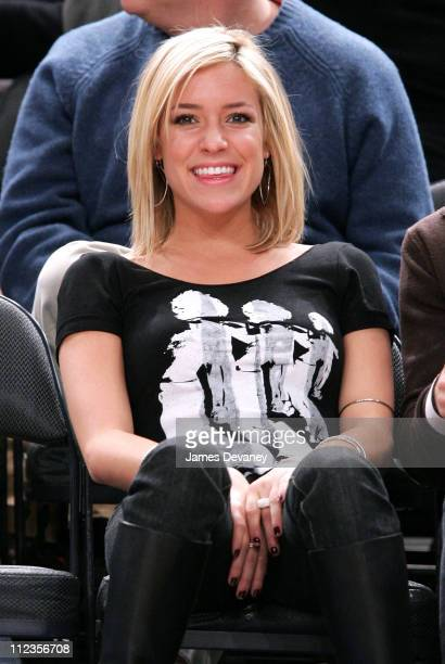Kristin Cavallari during Celebrities Attend Milwaukee Bucks vs New York Knicks Game December 9 2006 at Madison Square Garden in New York City New...