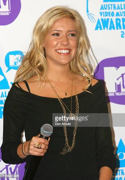 Kristin Cavallari during MTV Australia Video Music Awards 2007 Press Conference at Hilton Hotel in Sydney NSW Australia