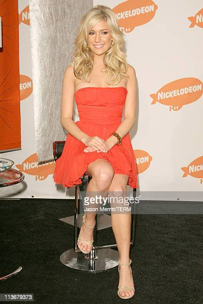 Kristin Cavallari during Nickelodeon's 19th Annual Kids' Choice Awards Press Room at Pauley Pavilion in Westwood California United States