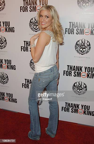 Kristin Cavallari during 'Thank You For Smoking' Los Angeles Premiere at Directors Guild of America in Hollywood California United States