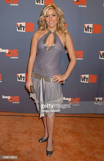 Kristin Cavallari during VH1 Big in '05 Arrivals at Sony Studios in Culver City California United States