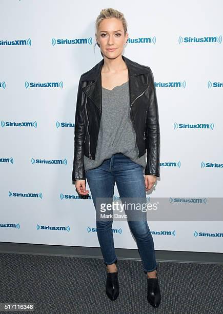 Kristin Cavallari poses at SiriusXM Studios on March 23 2016 in Los Angeles California