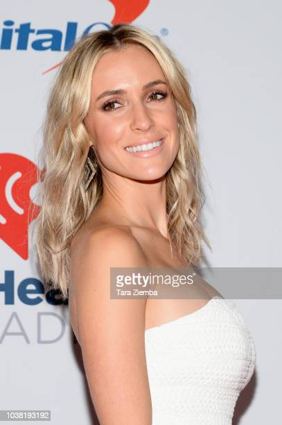 Kristin Cavallari poses in the press room during the iHeartRadio Music Festival at TMobile Arena on September 22 2018 in Las Vegas Nevada