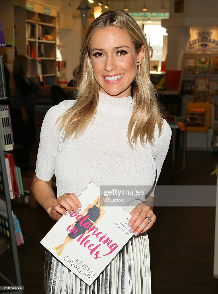 "Kristin Cavallari Signs Copies of Her New Book ""Balancing in Heels"" at Laguna Beach Books"