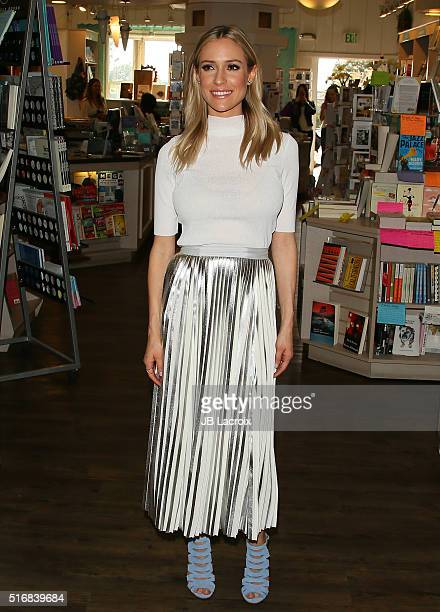 Kristin Cavallari signs copies of her new book 'Balancing in Heels' at Laguna Beach Books on March 20 2016 in Laguna Beach California