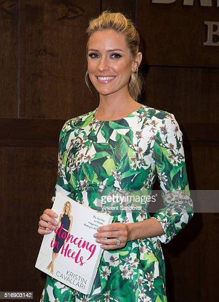 """Kristin Cavallari signs her new book """"Balancing In Heels: My Journey To Health, Happiness And Making It All Work"""" at Barnes & Noble at The Grove on..."""