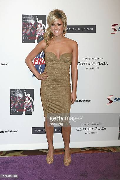 Kristin Cavalleri arrives at the 13th Annual Race to Erase MS Disco Fever at the Hyatt Regency Century Plaza on May 12 2006 in Los Angeles California