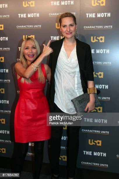 """Kristin Chenoweth and Aimee Mullins attend USA Network and The Moth's Storytelling Event A More Perfect Union Stories of Prejudice and Power"""" at the..."""