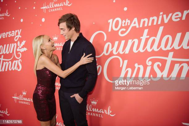 Kristin Chenoweth and Kevin Quinn arrive at the Los Angeles special screening of Hallmark Channel's A Christmas Love Story at Montage Beverly Hills...