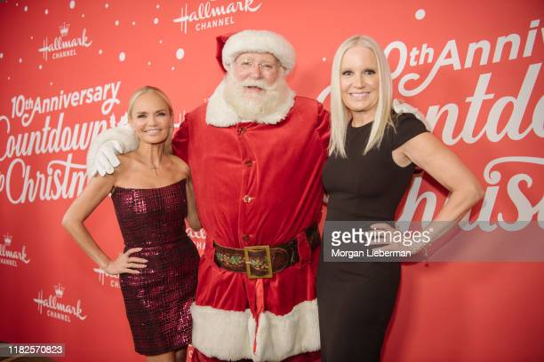 Kristin Chenoweth and Michelle Vicary arrive at the Los Angeles special screening of Hallmark Channel's A Christmas Love Story at Montage Beverly...
