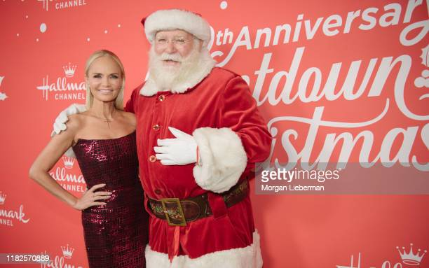 Kristin Chenoweth arrives at the Los Angeles special screening of Hallmark Channel's A Christmas Love Story at Montage Beverly Hills on October 21...