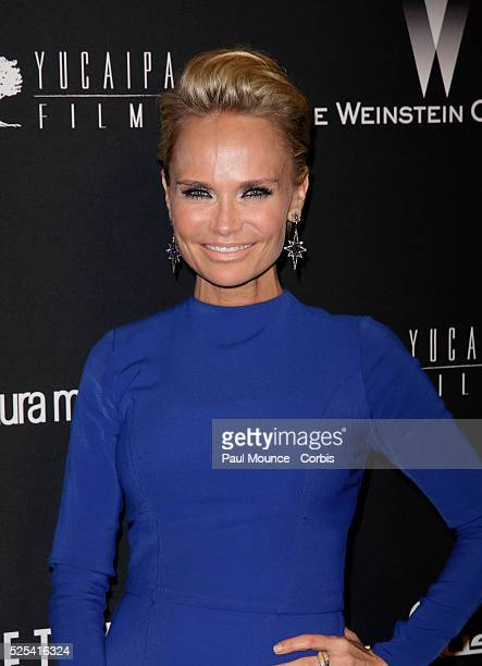 Kristin Chenoweth arrives at the Weinstein Company Golden Globes AfterParty