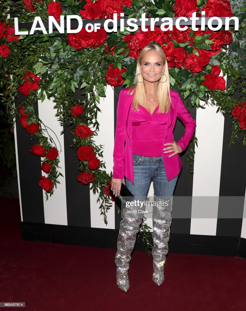 Kristin Chenoweth at the LAND of distraction Launch Party at Chateau Marmont on November 30, 2017 in Los Angeles, California.