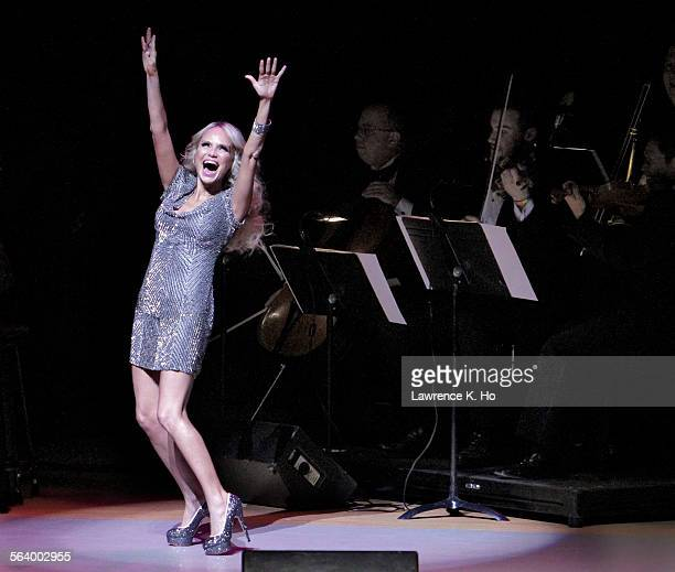 Kristin Chenoweth at the Segerstrom Concert Hall in Costa Mesa on Nov. 05, 2012. Her first major performance since her devastating head injury on the...