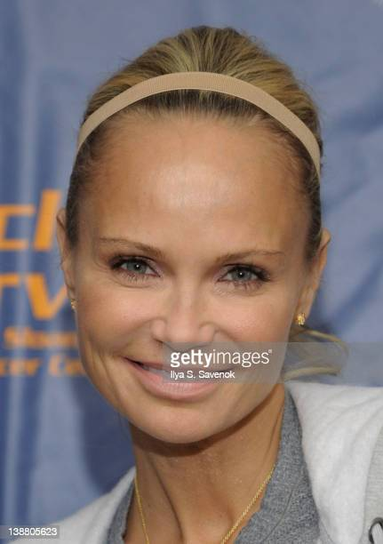 Kristin Chenoweth attends 2012 Cycle For Survival - Day 2 at Equinox Graybar on February 12, 2012 in New York City.