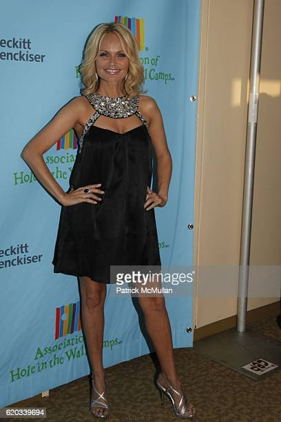 Kristin Chenoweth attends A Celebration of Paul Newman's Hole in the Wall Camps at Avery Fisher Hall on June 8 2009 in New York