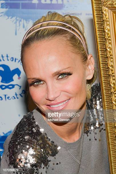 Kristin Chenoweth attends a portrait unveiling on FameWall NYC at Trattoria Dopo Teatro on November 21 2010 in New York City