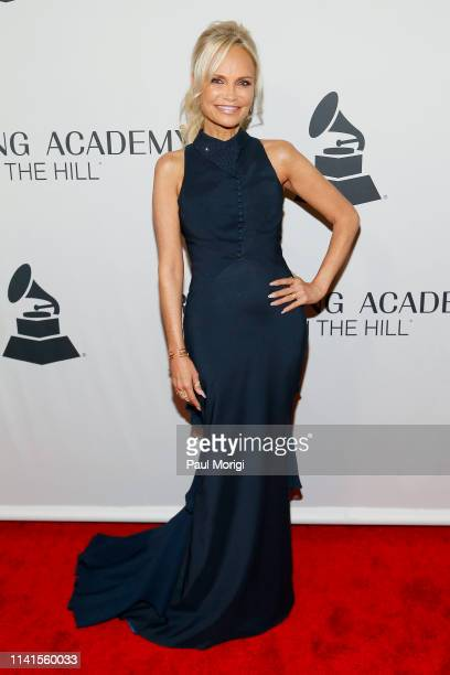 Kristin Chenoweth attends GRAMMYs on the Hill 2019 on April 09 2019 in Washington DC