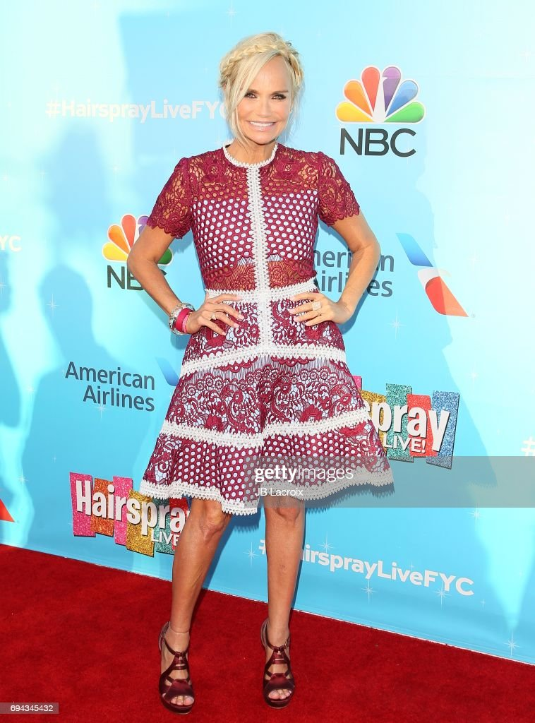 Kristin Chenoweth attends NBC's 'Hairspray Live!' FYC event on June 09, 2017 in North Hollywood, California.