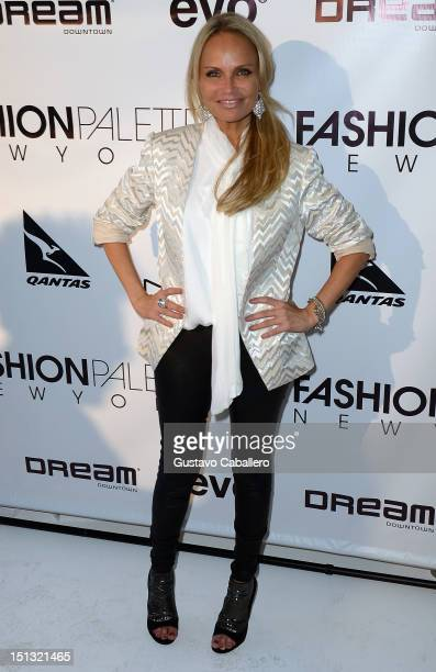 Kristin Chenoweth attends NYFW S/S 2013 PIJU Collection Launch at New York Fashion Palette at Dream Downtown on September 5 2012 in New York City