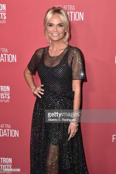 Kristin Chenoweth attends SAGAFTRA Foundation's 3rd Annual Patron of the Artists Awards at Wallis Annenberg Center for the Performing Arts on...