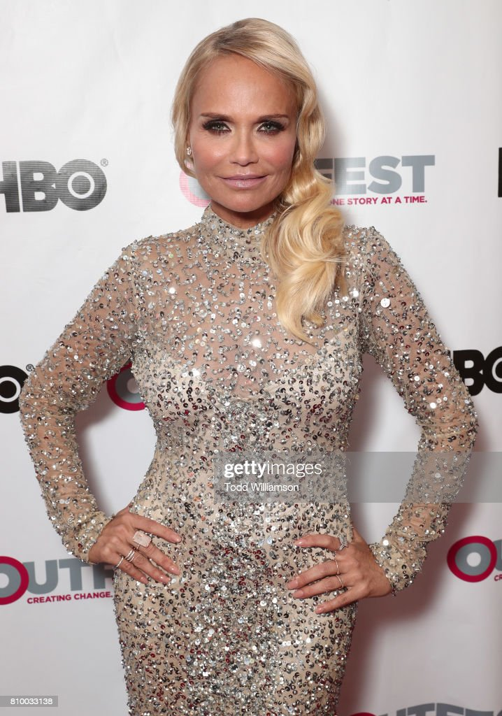 Kristin Chenoweth attends the 2017 Outfest Los Angeles LGBT Film Festival Opening Night Gala at Orpheum Theatre on July 6, 2017 in Los Angeles, California.