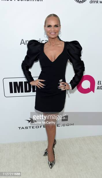 Kristin Chenoweth attends the 27th annual Elton John AIDS Foundation Academy Awards Viewing Party sponsored by IMDb and Neuro Drinks celebrating EJAF...