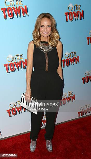 Kristin Chenoweth attends the Broadway Opening Night Performance of 'On The Town' at the Lyric Theatre on October 16 2014 in New York City