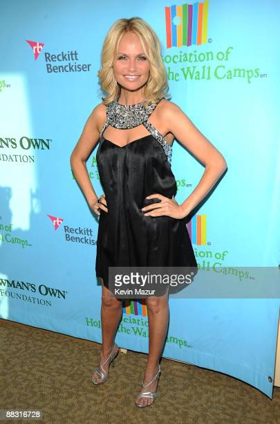 Kristin Chenoweth attends the celebration of Paul Newman's Hole in the Wall camps at Avery Fisher Hall at Lincoln Center for the Performing Arts on...