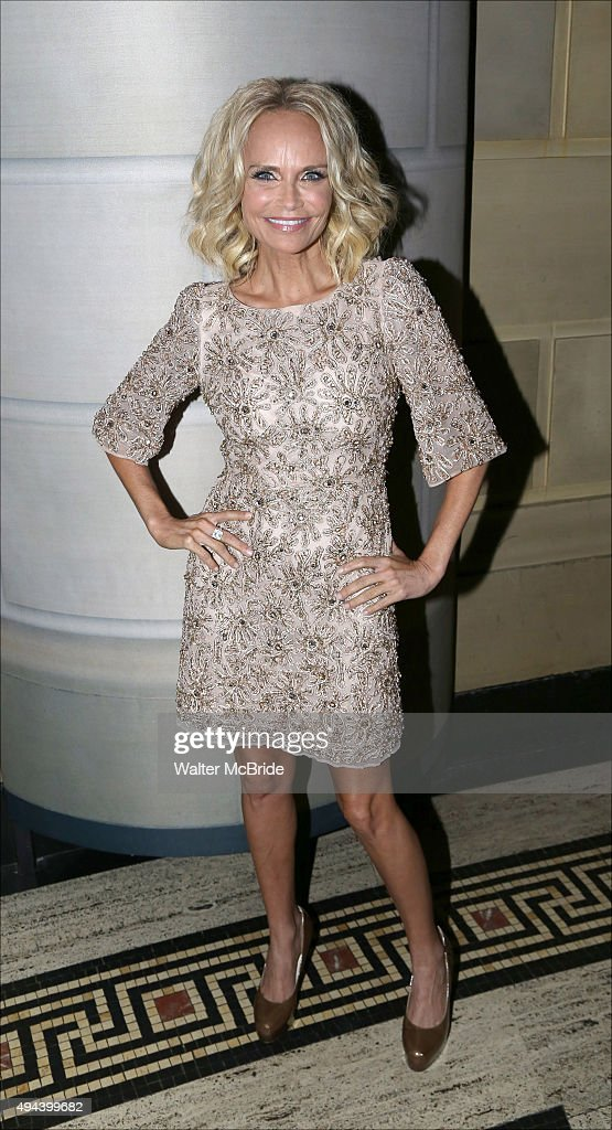 Kristin Chenoweth attends the Dramatists Guild Fund's Gala: 'Great Writers Thank Their Lucky Stars' at Gotham Hall on October 26, 2015 in New York City.