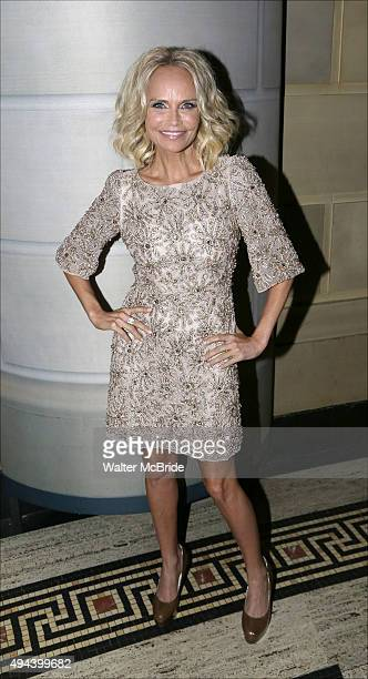 Kristin Chenoweth attends the Dramatists Guild Fund's Gala 'Great Writers Thank Their Lucky Stars' at Gotham Hall on October 26 2015 in New York City