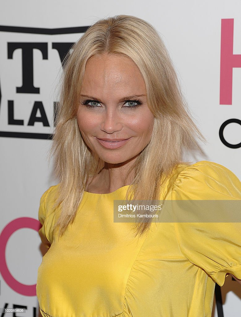 Kristin Chenoweth attends the 'Hot in Cleveland' premiere at the Crosby Street Hotel on June 14, 2010 in New York City.