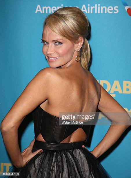 Kristin Chenoweth attends the Opening Night Performance After Party for 'On The 20th Century' at the American Airlines Theatre on March 12 2015 in...