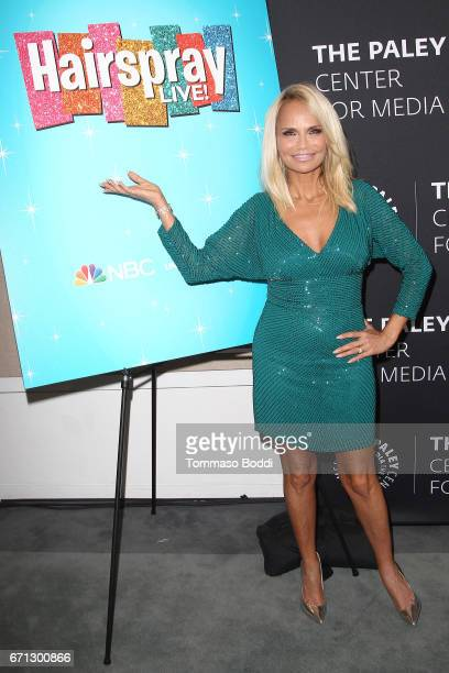 Kristin Chenoweth attends the Paley Center For Media Presents A Press Preview Of You Can't Stop The Beat The Art And Artistry Of Hairspray Live at...