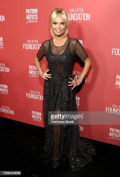 Kristin Chenoweth attends the SAGAFTRA Foundation's 3rd Annual Patron of the Artists Awards at the Wallis Annenberg Center for the Performing Arts on...