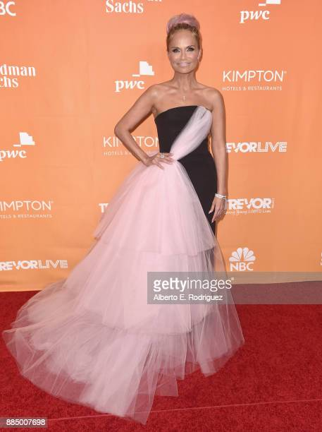 Kristin Chenoweth attends The Trevor Project's 2017 TrevorLIVE LA on December 3 2017 in Beverly Hills California
