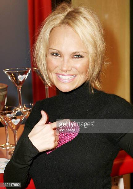 Kristin Chenoweth during Carson Kressley Hosts all Clothing Love Affair Party at Gramercy Park Hotel in New York City New York United States