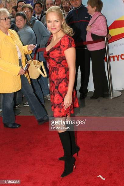 Kristin Chenoweth during Opening Night for 'Chitty Chitty Bang Bang' on Broadway Arrivals at The Hilton Theater in New York New York United States