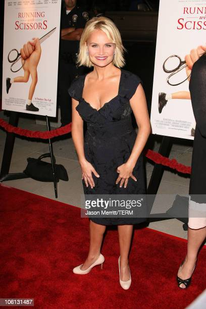 Kristin Chenoweth during 'Running with Scissors' Los Angeles Premiere Arrivals at The Academy in Beverly Hills California United States