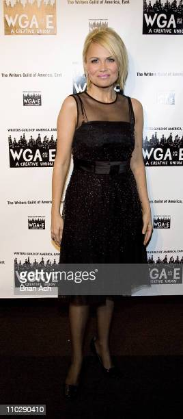 Kristin Chenoweth during The 59th Annual Writers Guild of America Awards Ceremony Arrivals and Cocktail Party at Millenium Hotel in New York City New...