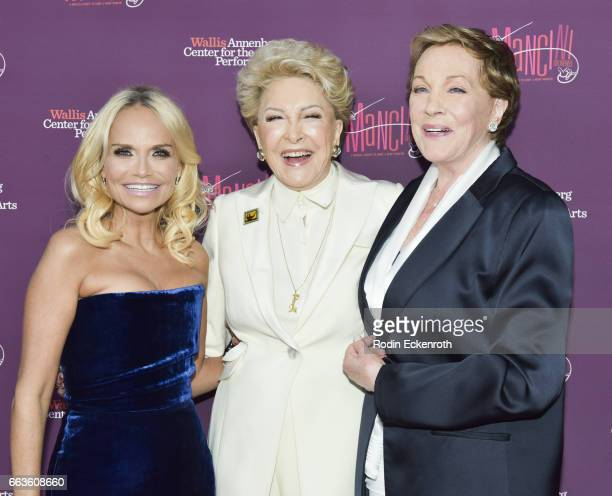 Kristin Chenoweth Ginny Mancini and Julie Andrews attend Mancini Delivered A Musical Tribute to Ginny and Henry Mancini at Wallis Annenberg Center...