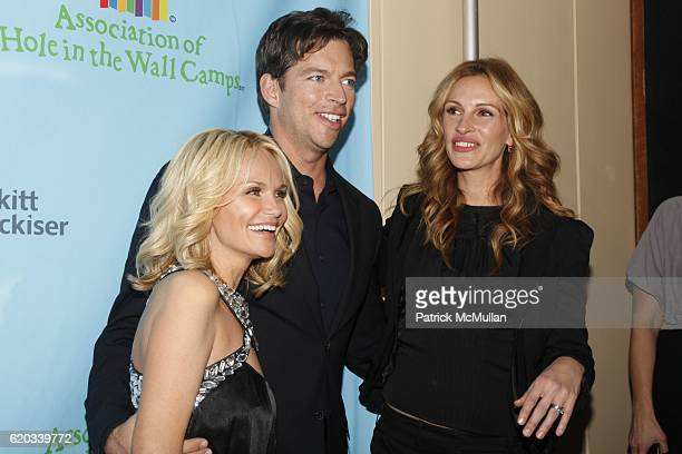 Kristin Chenoweth Harry Connick Jr and Julia Roberts attend A Celebration of Paul Newman's Hole in the Wall Camps at Avery Fisher Hall on June 8 2009...