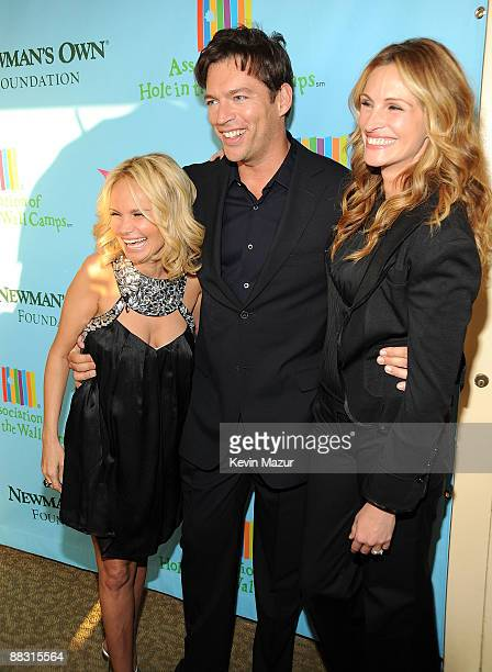 Kristin Chenoweth Harry Connick Jr and Julia Roberts attend the celebration of Paul Newman's Hole in the Wall Camps at Avery Fisher Hall at Lincoln...