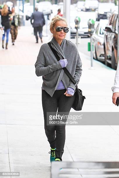 Kristin Chenoweth is seen on January 04 2017 in Los Angeles California