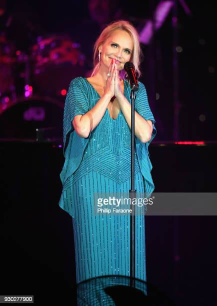Kristin Chenoweth performs onstage at Celebrity Fight Night XXIV on March 10 2018 in Phoenix Arizona