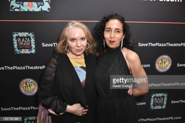 Kristin Coppola and Cori Coppola attend the House Of Cardin Special Screening At Palm Springs Modernism Week at The Plaza Theater on February 21 2020...