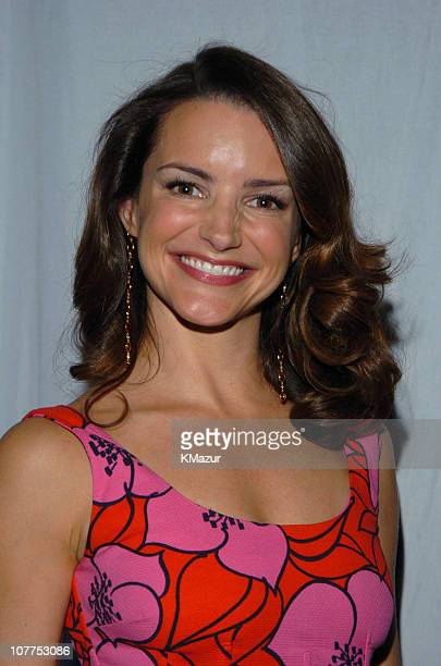 Kristin Davis 3836_088 during TBS/TNT Upfront Backstage April 22 2004 at Armory in New York City New York United States